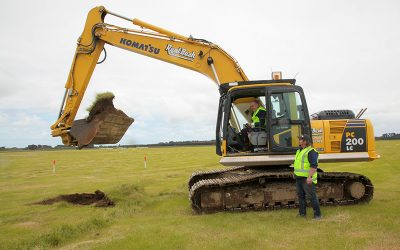 Work underway at southern dairy hub